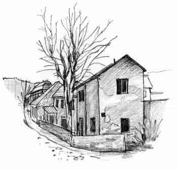 Domky v Troji u přívozu